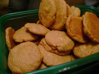 White Chocolate Chip & Espresso Cookies