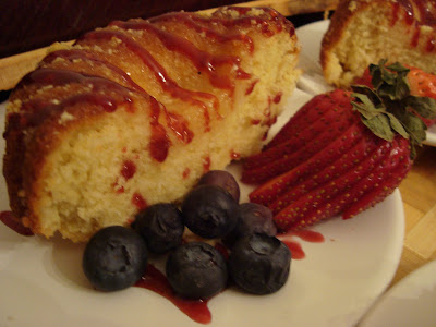 Instant Pot: Lemon Mini Bundt Cake