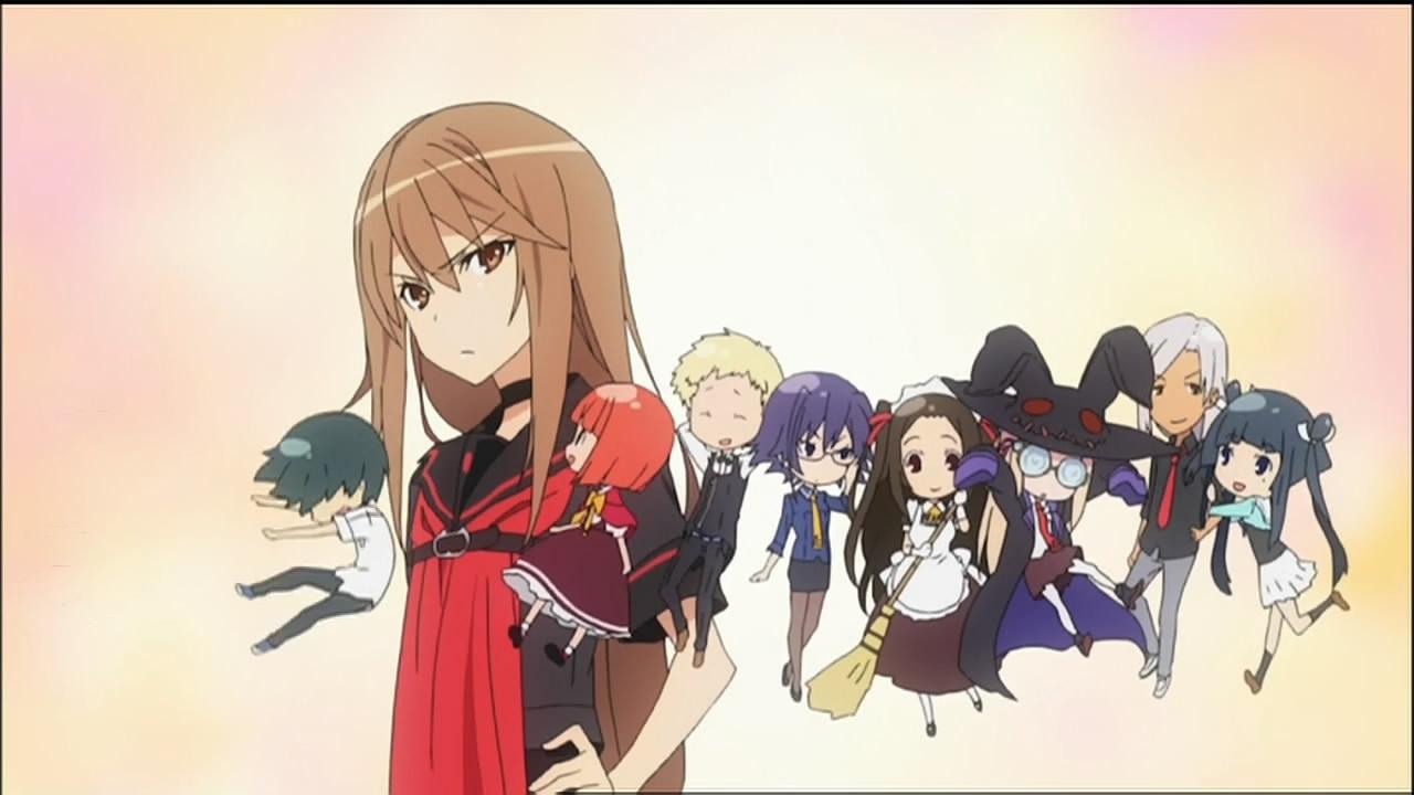 !!aNiMe!!: August 2010Ookami San To Shichinin No Nakama Tachi Characters