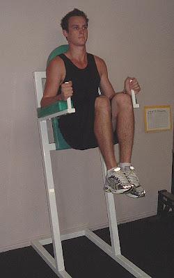 captains chair exercise 2 mid century side captain s leg raise live healthy
