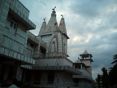 Side view of the Muktidham Temple in Nashik