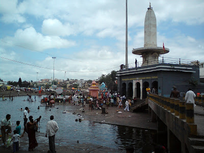 Godavari river banks in Nashik