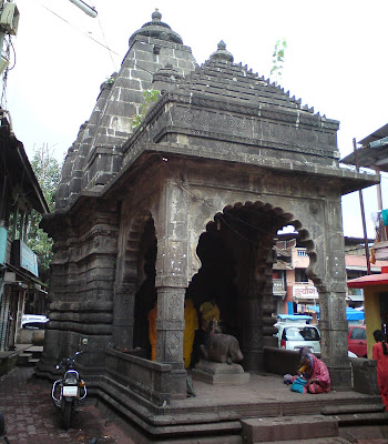 A Lord Shiva Temple in Trimbakeshwar
