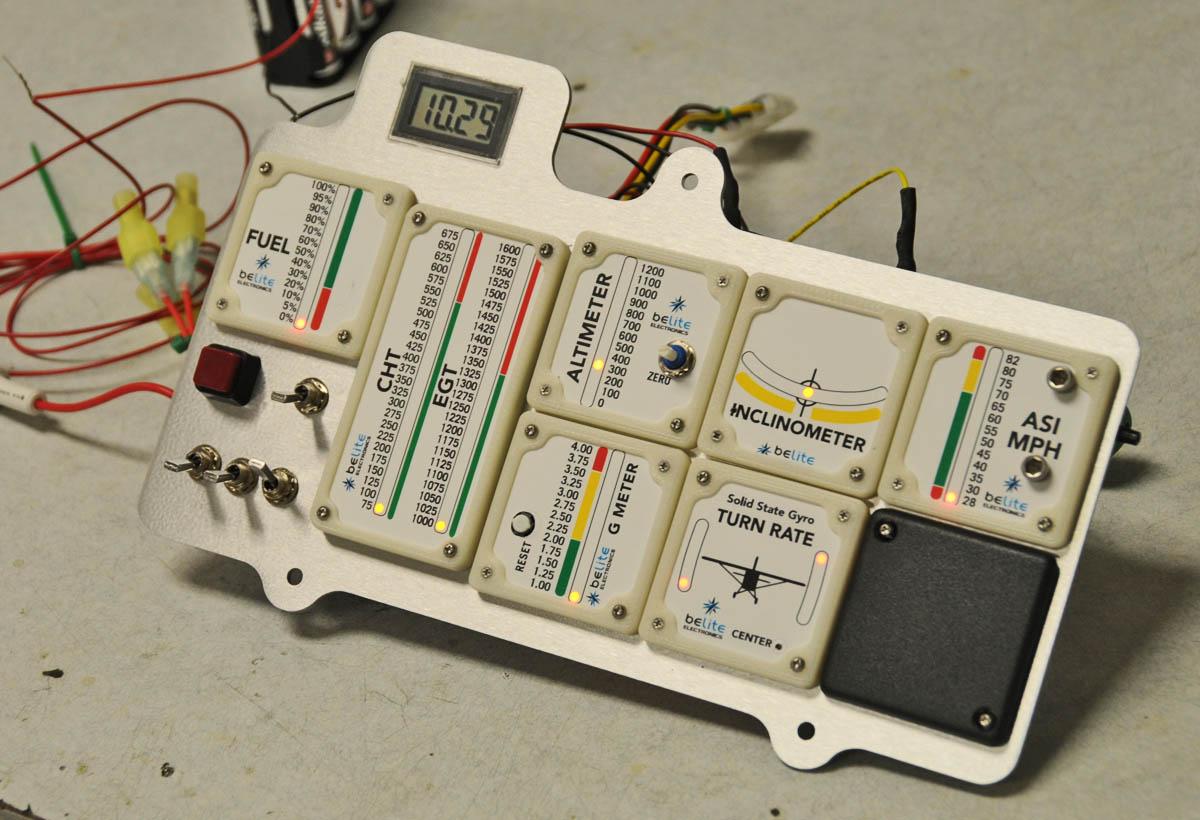belite ultralight blog wiring an ultralight instrument panel into aircraft instrument wiring [ 1200 x 820 Pixel ]
