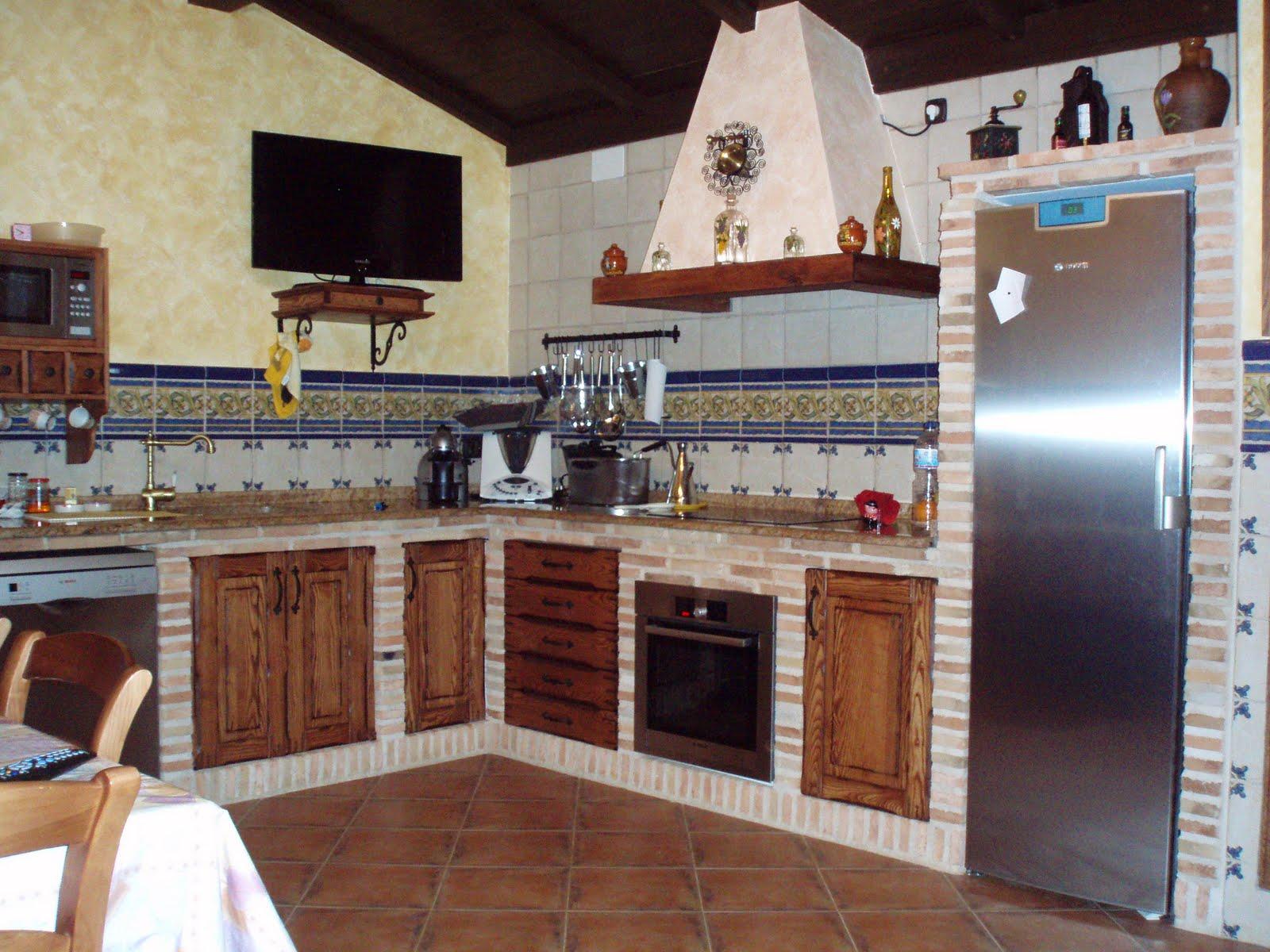 Cocinas rusticas de obra fotos fabulous cocina rustica de for Cocinas de obra