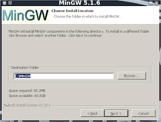 The Grey Corner: Installing and Running the MinGW Windows C