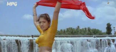 Gossips And News Sanghavi Exposing Her Boobs In Blouse Video