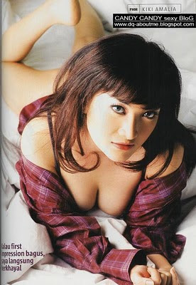 foto payudara seksi Kiki Amalia