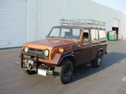 Picture: Toyota Land Cruiser Generation : Toyota Land