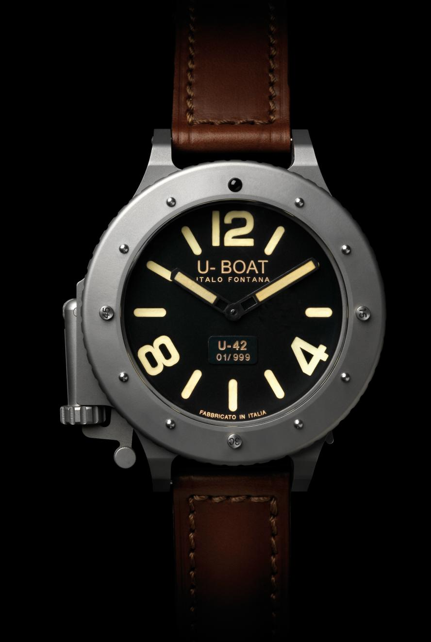 What Is Leather Made Of >> OceanicTime: U-BOAT U-42 (2nd look)