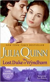 Joint Review: The Lost Duke of Wyndham by Julia Quinn.