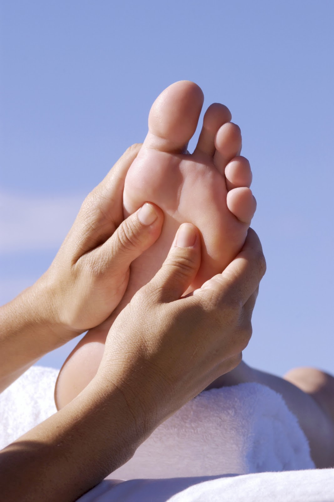 Easy Foot Massage Techniques To Stimulate Weight Loss ... |Foot Massage