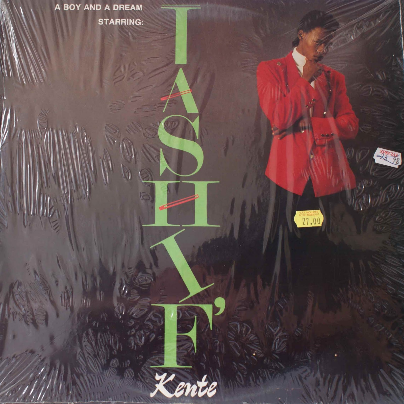 Afro-Synth: TASHIF' KENTE - A Boy and a Dream (1991)
