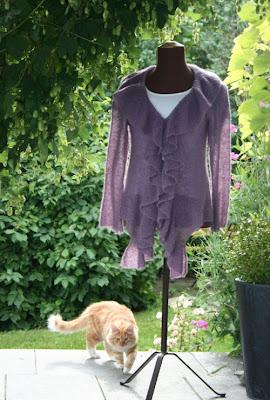 05724841 Hildes hekle-strikkeri-hurra!: Lett sommerjakke / Light summer jacket