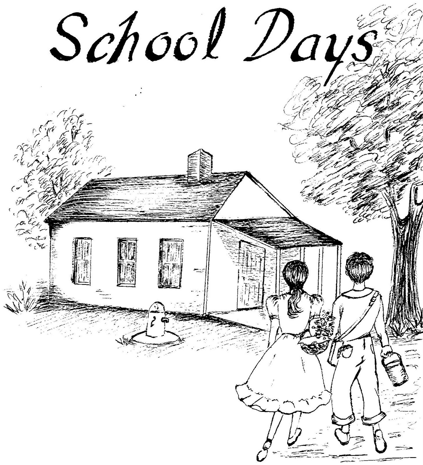 96 ideas Coloring Pages Of A School House on cleanrrcom