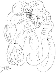 monster creature sketch wayne tully monsters drawing horror sketches sketching draft daily xjo female ink bmp