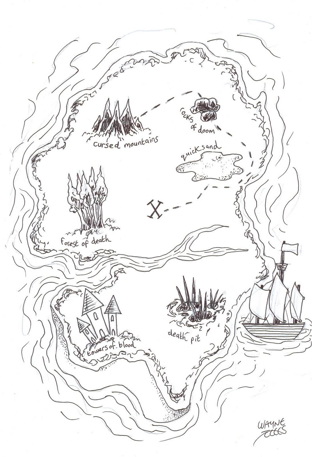 Wayne Tully Horror Art How To Draw And Create A Treasure