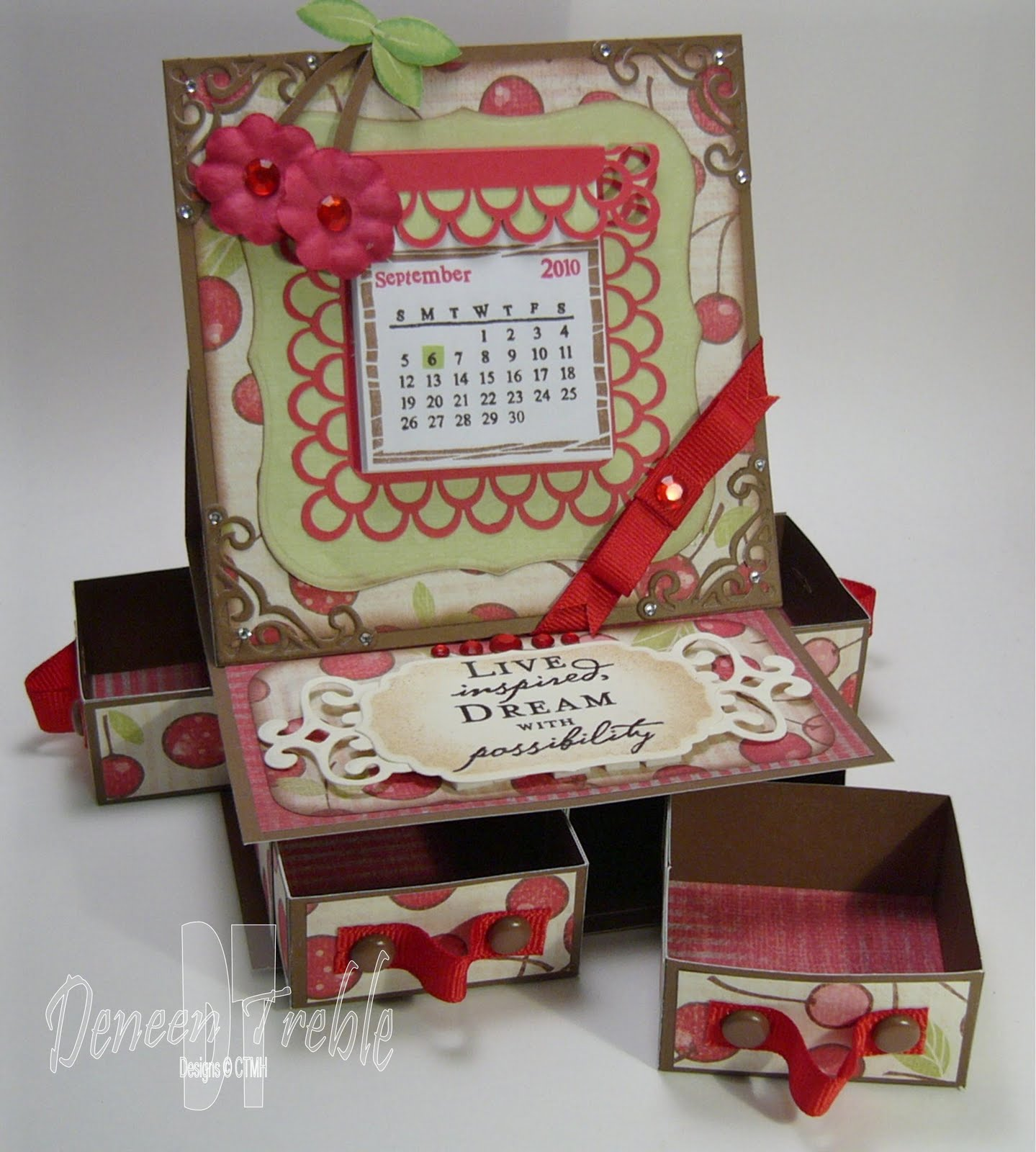 A Path of Paper: 4-Drawer Easel Card for H2H - photo#21