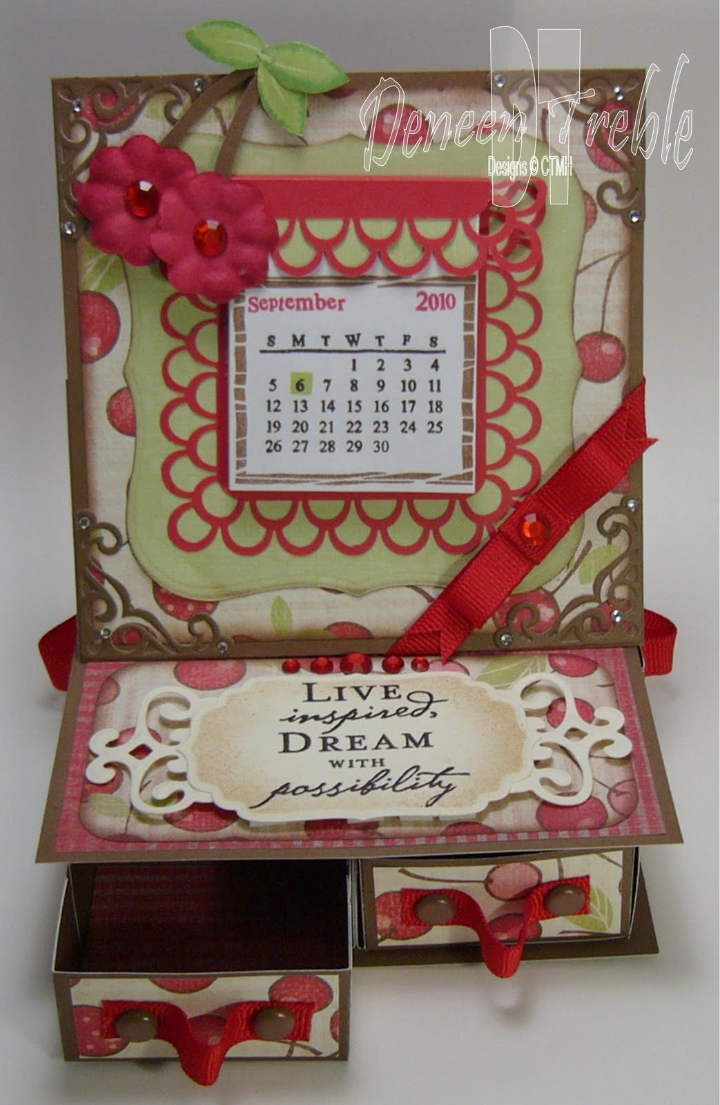 A Path of Paper: 4-Drawer Easel Card for H2H - photo#24