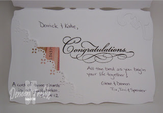 Bridal Shower Card inside