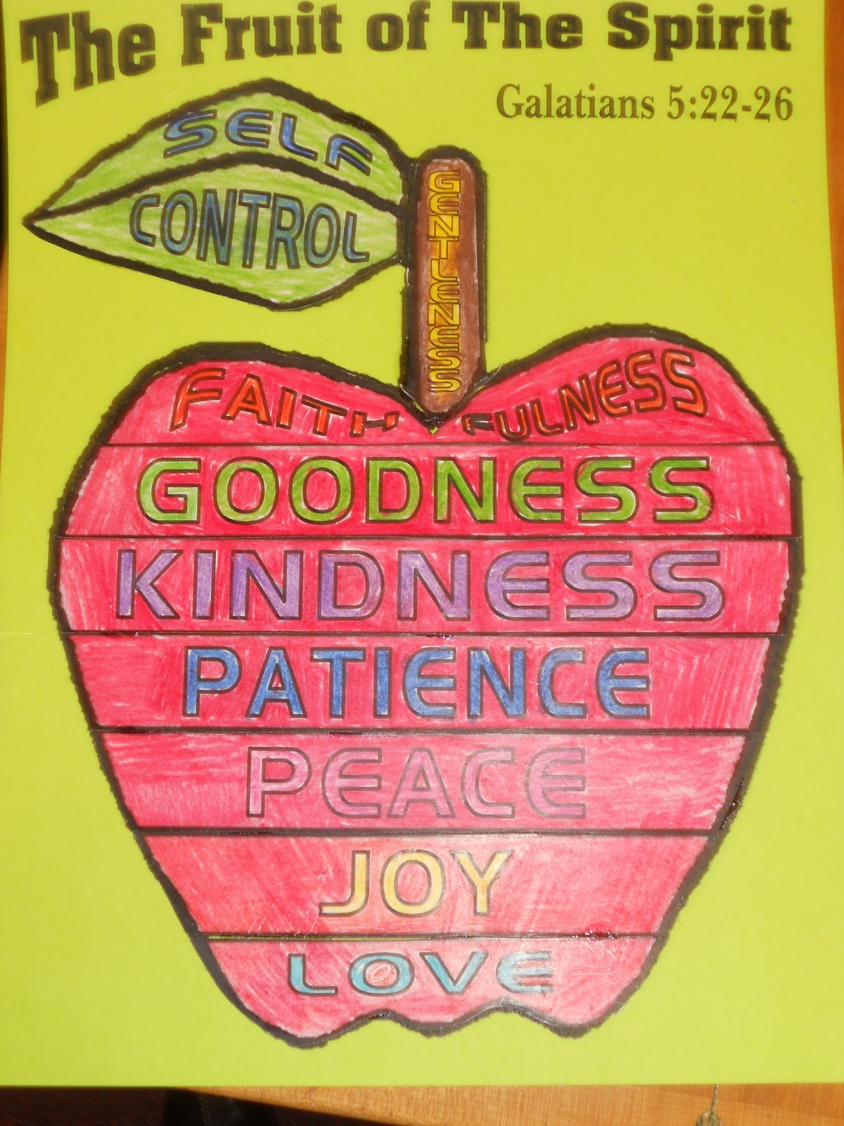Hands On Bible Teacher Fruit Of The Spirit Lesson 2