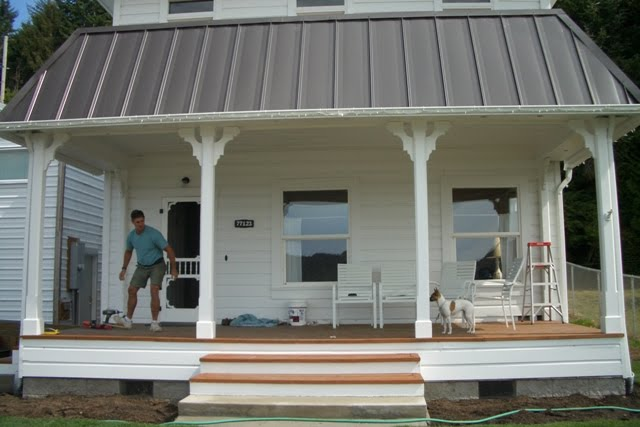 Consider It Done Construction New Front Porch
