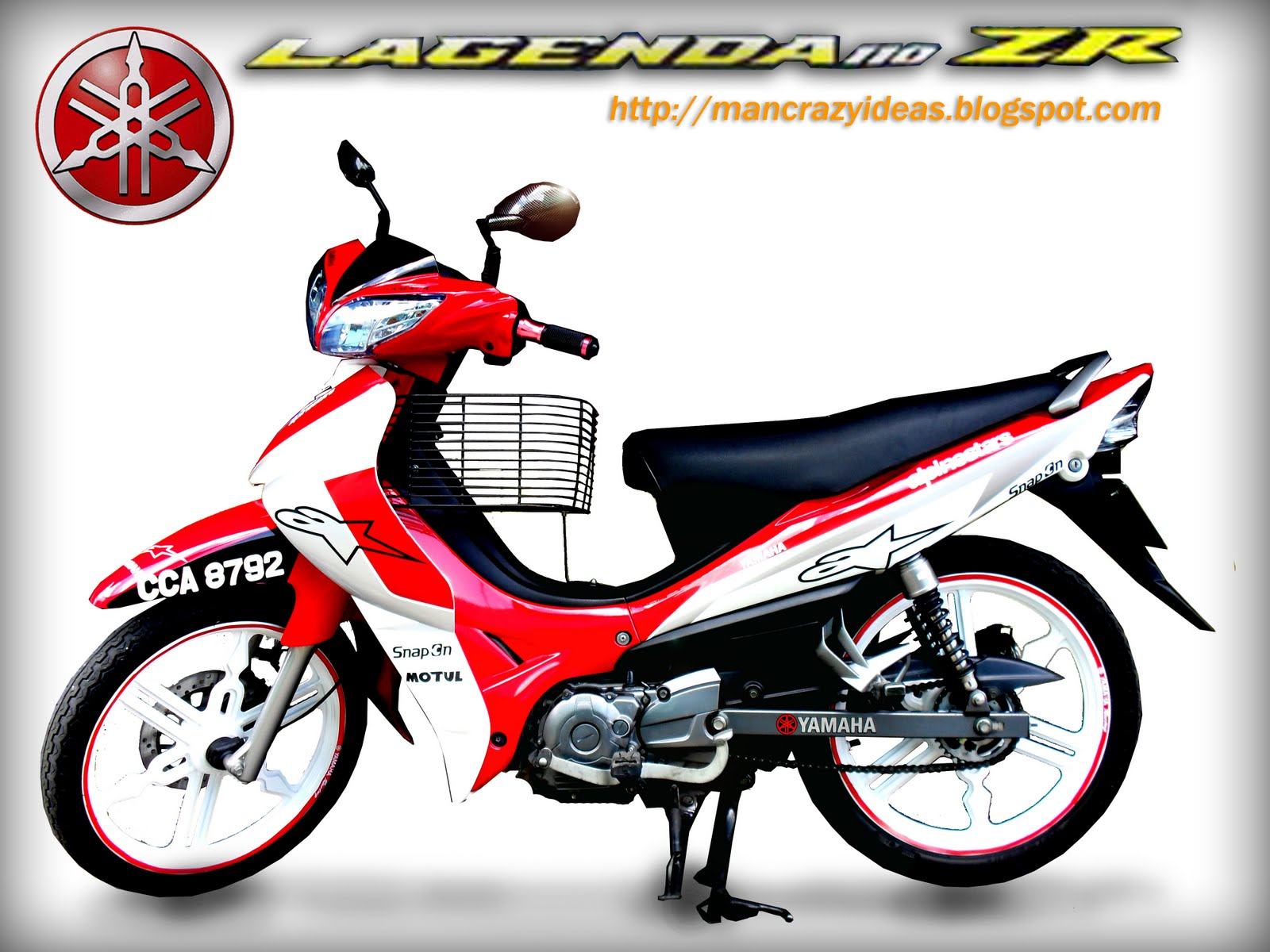 Crazy Ideas: My Yamaha Lagenda