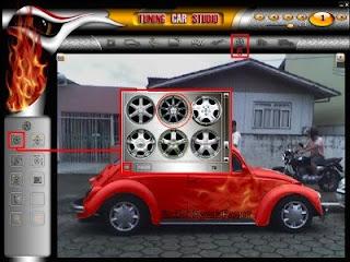 Tuning Car Portable