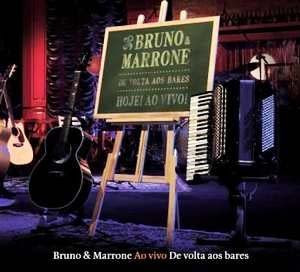 CD Bruno e Marrone - De Volta aos Bares Ao Vivo 2009