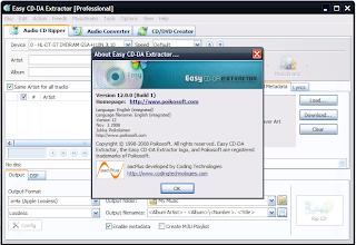 Easy CD-DA Extractor Pro Vs. 12.0.0 + Crack