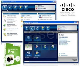 Cisco Network Magic Pro Vs. 5.1.8354.0 + Patch