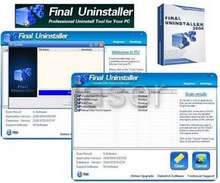 Final Uninstaller Vs. 2.1.9 + Keygen + Serial