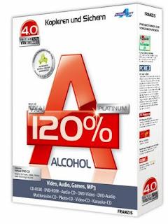 Alcohol 120% Final Retail Vs. 1.9.8.7612 + Crack