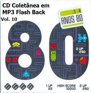 CD Coletânea em MP3 Flash Back Raridade Vol. 10