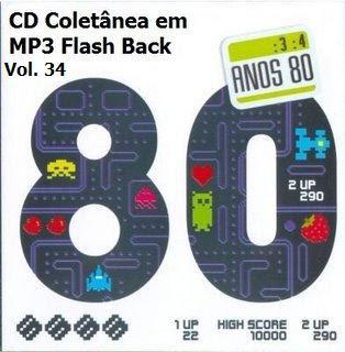 CD Coletânea em MP3 Flash Back Raridade Vol. 34