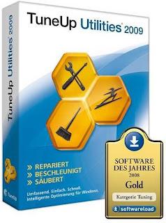 TuneUp Utilities 2009 Vs. 8.0.3100 + Serial