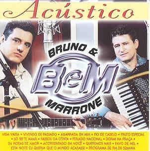 CD Bruno e Marrone - Acústico (2000)