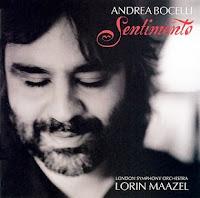 CD Andrea Bocelli - Sentimento