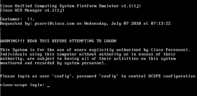 UCS Platform Emulator | Musings of Rodos