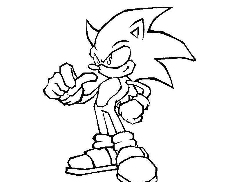 Desenhos Para Colorir Do Super Sonic Melhores Casas De Todas As