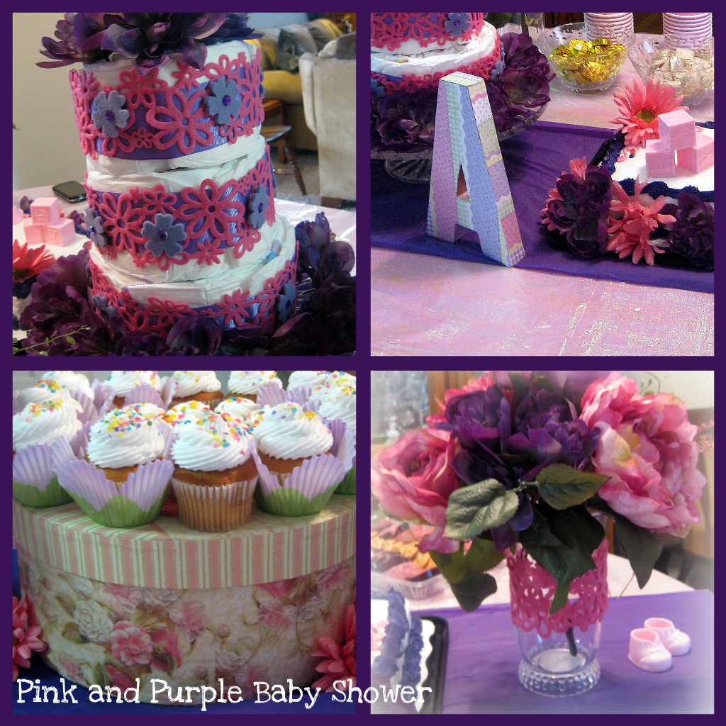 Everything Sweet: B is for Baby! A Pink and Purple Baby Shower