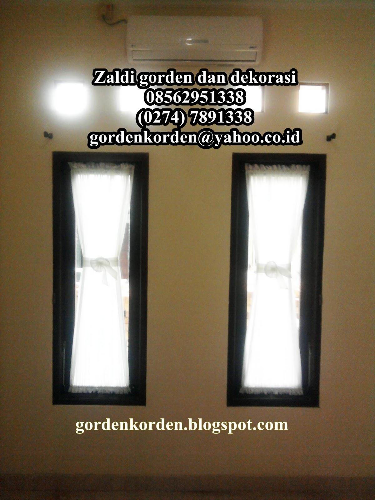 Model Gorden Vitrage Pita Sobat Interior Rumah