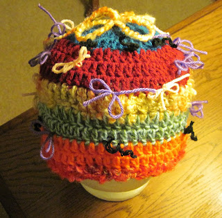 crocheted ugly hat