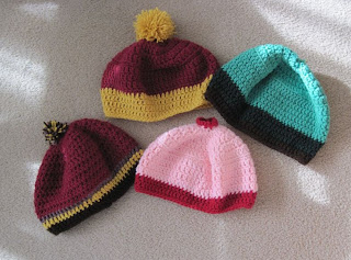 4 hats for the homeless