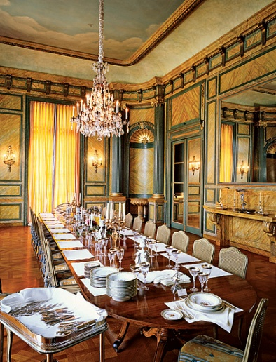 Decadent Dining Rooms Come Take A Seat Au Revoir