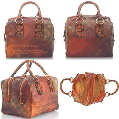Louis Vuitton Monogram Jokes Handbag Cool Chic Style Fashion