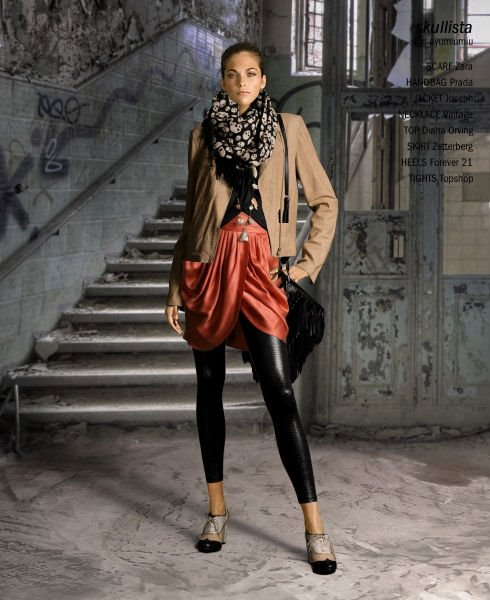 Fashion Inspiration |  Print Scarf
