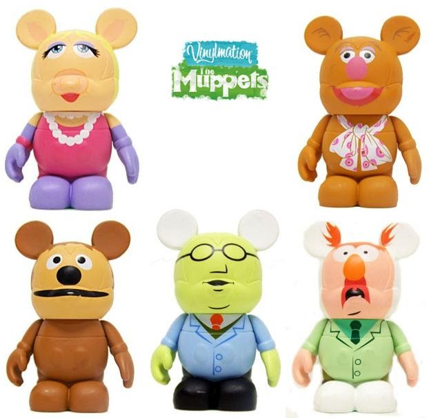 The Blot Says Disney Vinylmation The Muppets Series 1