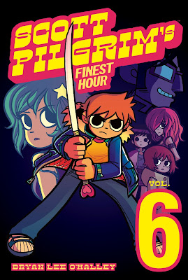 Scott Pilgrim Vol. 6: Scott Pilgrim's Finest Hour Graphic Novel Cover Artwork by Bryan Lee O'Malley