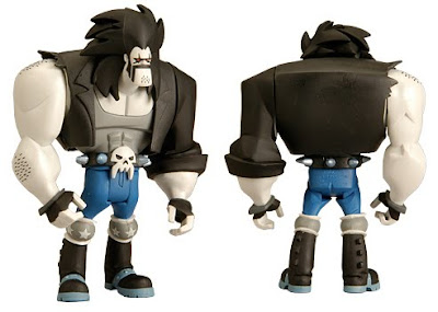 MattyCollector.com Exclusive Lobo Justice League Unlimited Action Figure